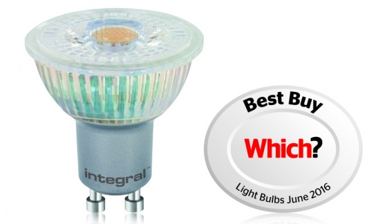 Integral LED scoops Which? badge of quality