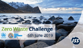 ISS issues zero waste challenge