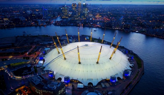 ISC lands five year booking at The O2