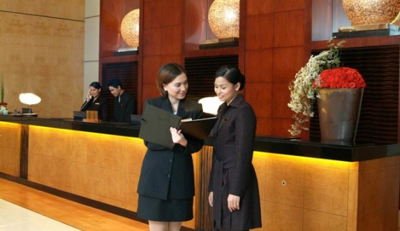 Secrets of success in reception services