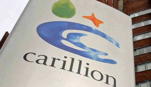 Carillion restructures senior team