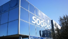 Sodexo reports mixed results for first half