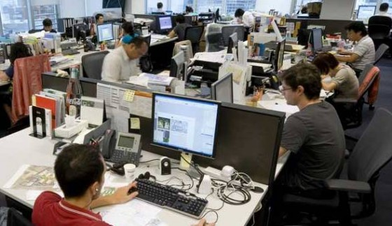 Workplace design failing knowledge workers