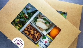 Caterer launches workplace delivery service