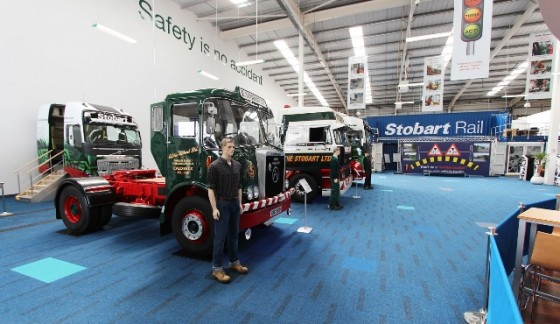 Indepth on board at Eddie Stobart