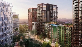 Jaguar appointed at One Embassy Gardens