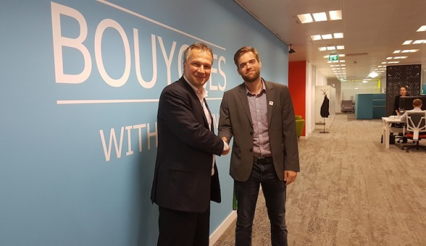 Bouygues E&S teams up for the connected workplace