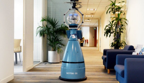 G4S trials robot security officer
