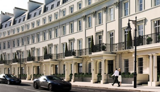 ISS pitches up in Belgravia