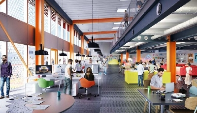 Refurbished industrial buildings are the future of workplace