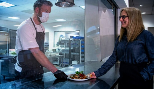 ISS launches back-to-work food services