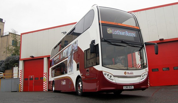On the buses: Spectrum seals Lothian deal