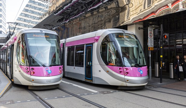 Cordant on board at Midland Metro