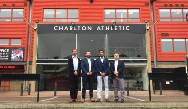 Charlton Athletic recruits Creativevents