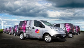 Mitie puts electric vans on the road