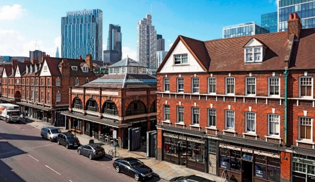 Axis lands new job at Spitalfields