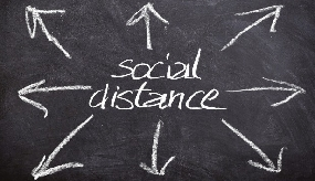 Back to work: social distancing will be critical