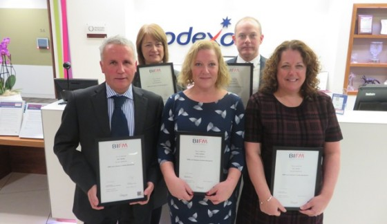 First class graduates from Sodexo IFM Academy