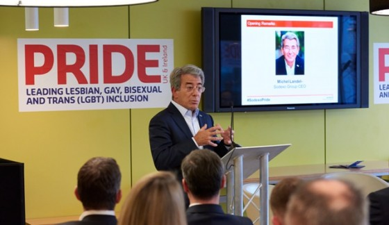 Sodexo launches Pride network
